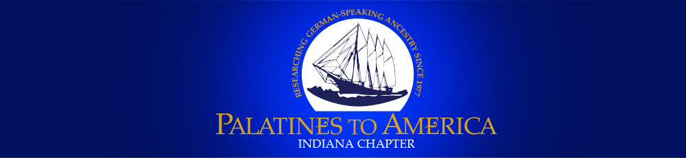 Indiana Chapter of Palatines to America